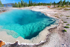 Black Pool Yellowstone National Park Royalty Free Stock Photos