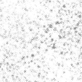 Black pop art style halftone dots on white layout. Modern pop art Grunge Vintage Grain Texture Design. Create Abstract Dirty, Dotted, Spotted, Background Stock Illustration