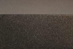 Black porous material Stock Photos