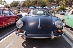 Black 1964 Porsche 356 C Cabriolet Stock Image