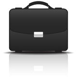 Black Portfolio Case, Vector Illustration Stock Photo