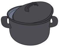 Black pot Royalty Free Stock Photography