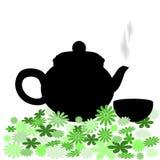 Black pot Stock Images