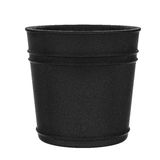 Black pot isolated on white Royalty Free Stock Photography