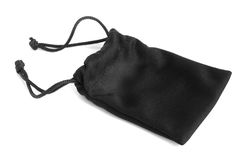 Black pouch Stock Images