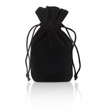Black pouch Stock Photography