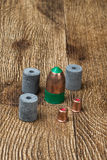 Black powder ammunition Stock Images
