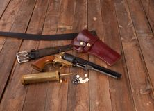 Black Powder Gun Stock Images