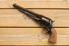 Black powder revolver Royalty Free Stock Photography