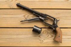 Black powder revolver Royalty Free Stock Photo
