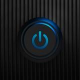 Black power button Stock Photography