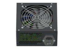 Black Power Supply Unit Stock Image