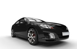 Black Powerful Car Stock Images