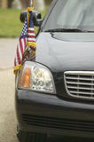 Black Presidential Limo Royalty Free Stock Image