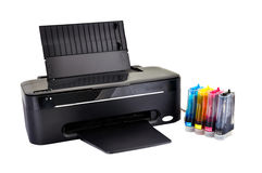 Black printer Stock Image