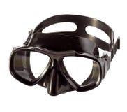 Black professional diving mask Stock Photos