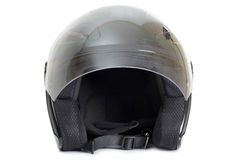 Black protective helmet Royalty Free Stock Images