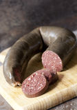 Black Pudding stock photography