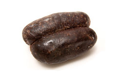 Black pudding sausages  Royalty Free Stock Photography