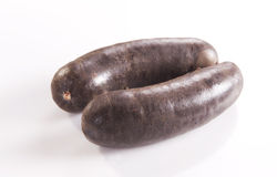 Black pudding Royalty Free Stock Images
