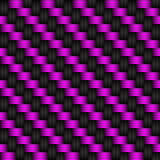 Black and purple abstract background. Carbon look, vector illustration Royalty Free Stock Photography