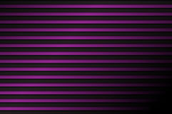Black and purple abstract background, horizontal lines. With shadow, vector illustration Stock Photo