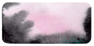Black-and-purple-pink watercolor Stock Photos