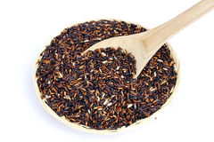 Black Purple Rice Royalty Free Stock Image