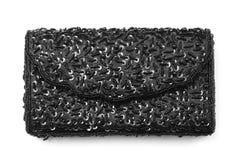 Black purse Royalty Free Stock Image