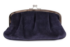 Black purse Royalty Free Stock Images