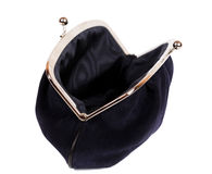 Black purse Stock Images