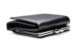 Black purse - stock image Stock Images