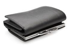 Black purse - stock image Royalty Free Stock Image