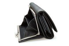 Black purse - stock image Stock Image