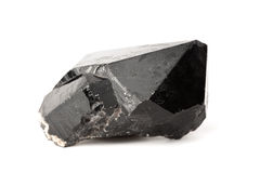 Black quartz crystal Stock Photo