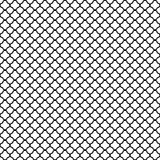 Black quatrefoil pattern Stock Image