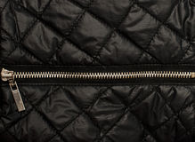 Black quilted texture Stock Photo