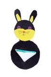 Black rabbit Stock Images
