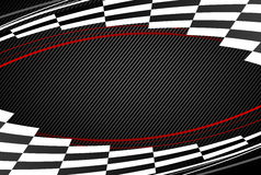 Black racing background Royalty Free Stock Photos
