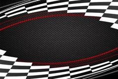 Black racing background Royalty Free Stock Photos