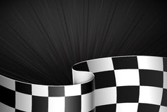 Black racing background Royalty Free Stock Photography
