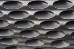 Black radiator grille. Grid of car close-up, texture, background royalty free stock photography