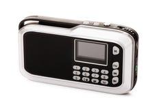 Black radio receiver Stock Image