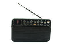 Black radio transmitter Stock Photos