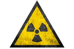 Free Black Radioactive Sign In Yellow Riangle Stock Photo - 157333720