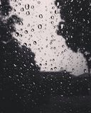 Black Rain Stock Photography