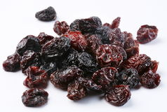 Black raisins Royalty Free Stock Photography