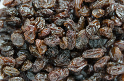 Black raisins Stock Images