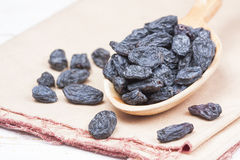 Black raisins Stock Photos