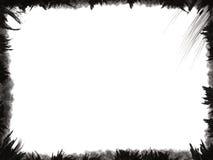 black ramgrunge Royaltyfria Bilder